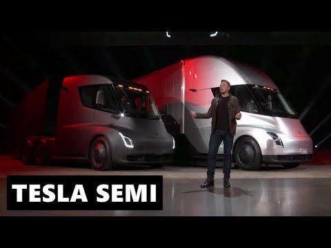 Tesla Semi Fully Explained by Elon Musk