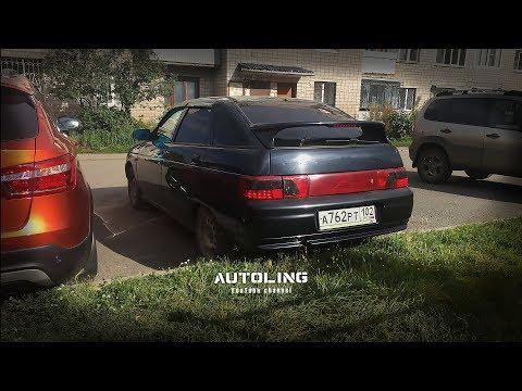 Бегущие поворотники в стиле Lexus на ВАЗ 2112