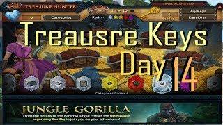 (RS) Runescape Daily Free Treasure Hunter Keys - Ocean's Alliance -  Day 14  (CC)