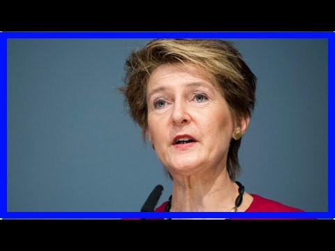 US Newspapers - Swiss justice minister calls for commodities crackdown