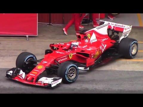 Formula 1 - 2017. Тесты в Барселоне. День 4-ый.