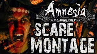 Amnesia A Machine For Pigs - SCARY/FUNNY MOMENTS MONTAGE