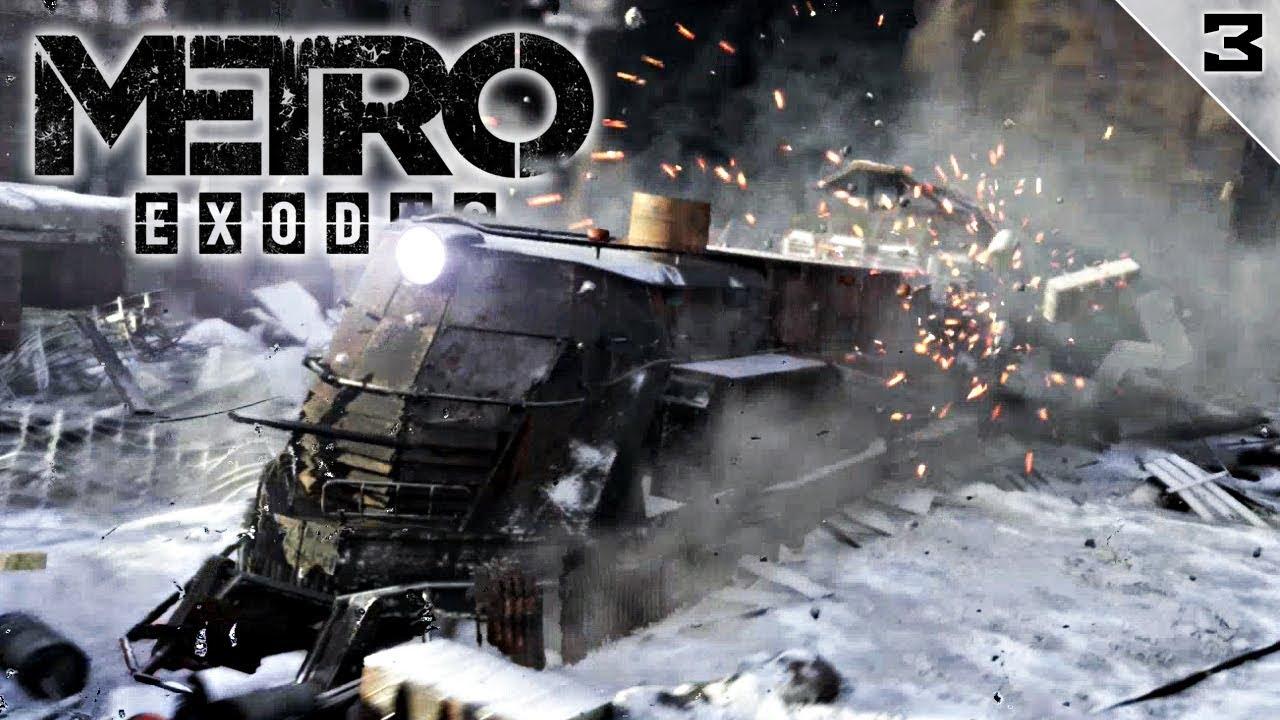 METRO EXODUS #3 | EL GRAN TREN | Gameplay Español