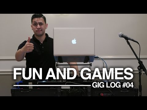 Party GIG LOG: It's All Fun And Games | DJ Equipment