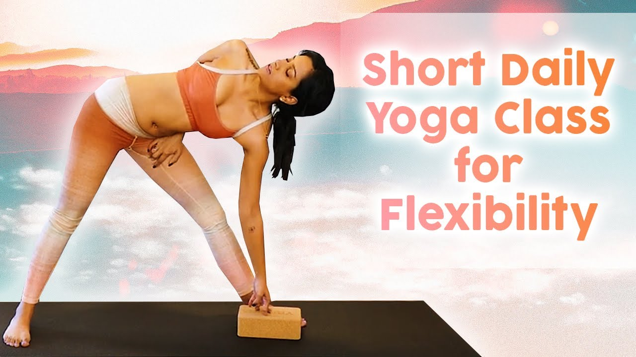 14 Minute Yoga for Flexibility | Daily Routine to Help You Get More Flexible & Reduce Stiffness