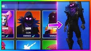 "How To Get NEW ""Raven"" LEGENDARY SKIN for *FREE* in Fortnite: Battle Royale [Retrex]"