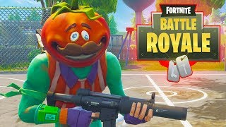 I AM A TOMATE!! - THE BEST SKIN FORTNITE BATTLE ROYALE