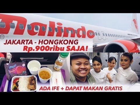 Malindo Air Jakarta To Hongkong (Via KL) Rp.900ribu-an LCC Rasa Full Service!