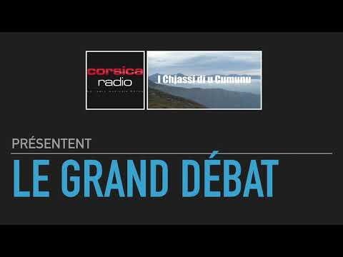 Le grand débat Corsica Radio - I Chjassi di u Cumunu - Thème : l'économie de la Corse