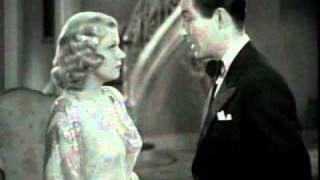"""Jean Harlow and Robert Taylor in """"Personal Property"""" 1937"""