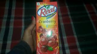 Review :- Real Fruit Power Cranberry Juice | Cranberry juice | Benefits and Usage |