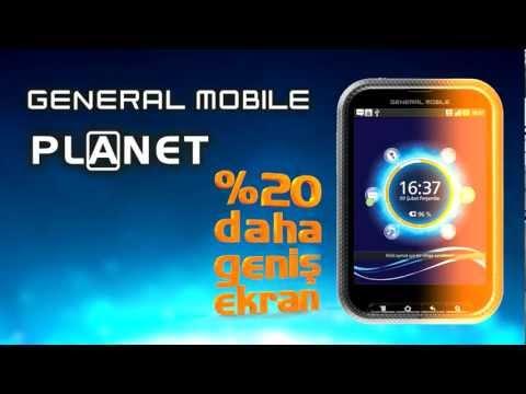 General Mobile Planet internet reklam video