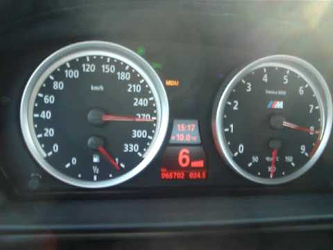 BMW M5 E60 Autobahn top speed - YouTube
