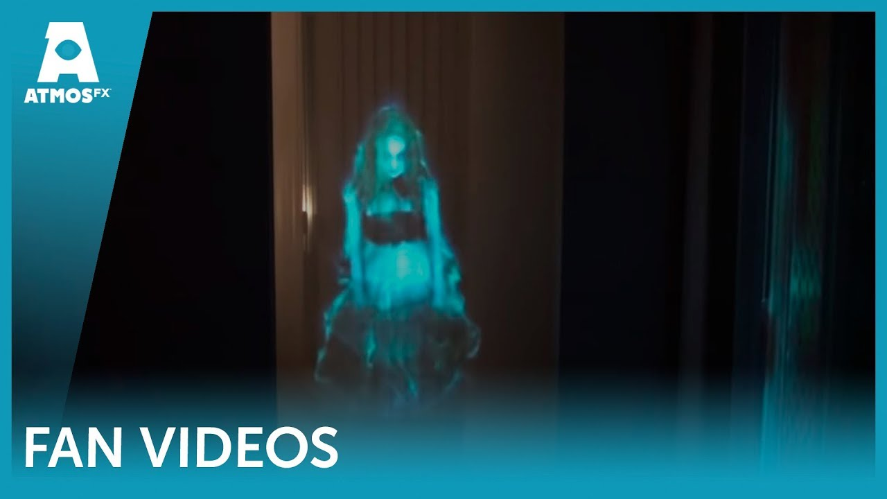 Ghostly Apparitions Hologram Illusion In Doorway Youtube
