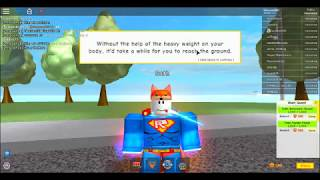 Being a Super??? | Super Power Training Simulator | Roblox