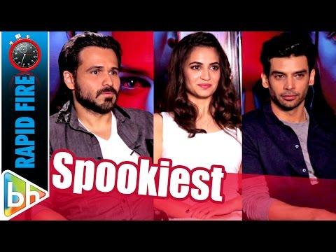 Emraan-Kriti-Gaurav's SPOOKY Rapid Fire On Aamir Khan, Jannat, Aashiqui 2