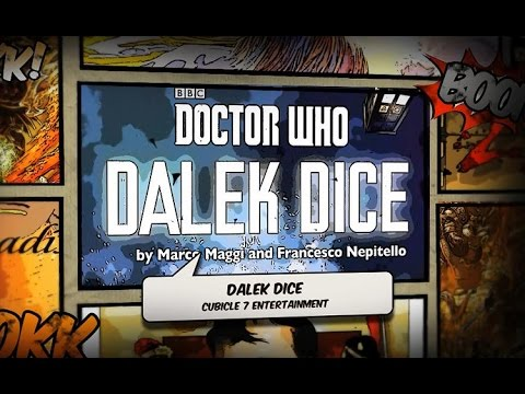 Outside the Box: 'Doctor Who - Dalek Dice' from Cubicle 7 Entertainment