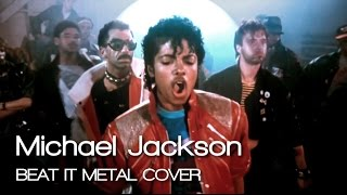 michael jackson beat it metal cover by jotun studio feat junior vargas