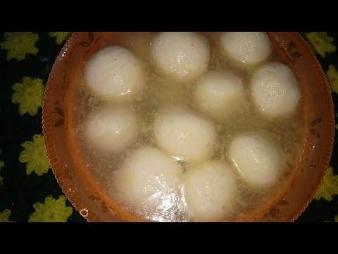ছানার রসগোল্লা , Chanar Rosso Golla Made By BANGALI RECIPE MADHUMITA MONDAL