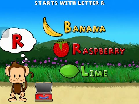 Monkey Preschool Lunchbox - Best preschool counting shapes colors learning app for kids ipad android