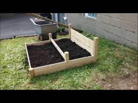 Tiered Cedar Raised Garden Bed Raised Flower Beds Raised
