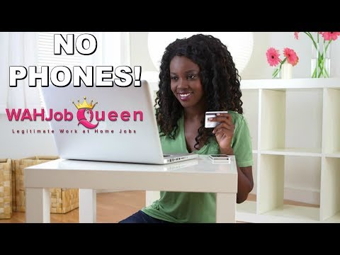 10 NON PHONE WORK AT HOME JOBS WITH NO EXPERIENCE – HIRING NOW!