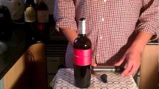 Como conservar el vino una vez abierto