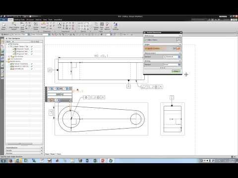 NX 9 Tutorial 5 (Basic Drafting)