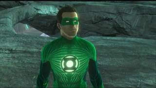 Green Lantern Rise of the Manhunters - Review Gameplay German