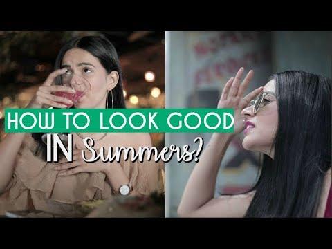 How To Look Good In Summers! | Komal Pandey