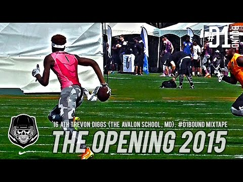 The Opening Finals (2015): '16 ATH Trevon Diggs (The Avalon School, MD) #D1Bound Mixtape