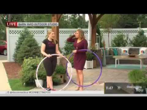 Cori Magnotta Hoops it Up with Heidi Voight on NBC CT