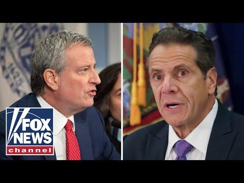 NYC De Blasio calls for probe into 'really disturbing' Cuomo allegations
