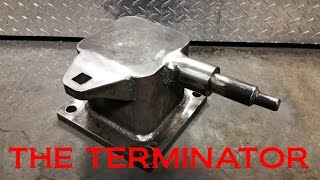 BLACKSMITHING - Large Post Anvil Hack Build 2.0 - The TERMINATOR!