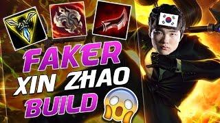 FAKER'S KICK-ASS XIN ZHAO BUILD - League of Legends