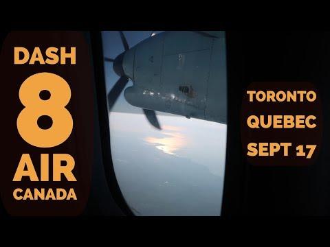 Toronto Quebec - Dash 8 Air Canada
