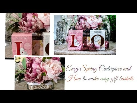 How To| DIY Easy Beautiful Spring Centerpiece🌼| (Bonus) Gift Ideas For Mother's Day🌷 + Tips