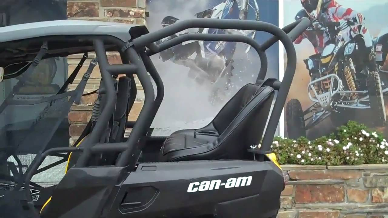 Can Am Commander Back Seat And Roll Cage Kit Www Utvma Com
