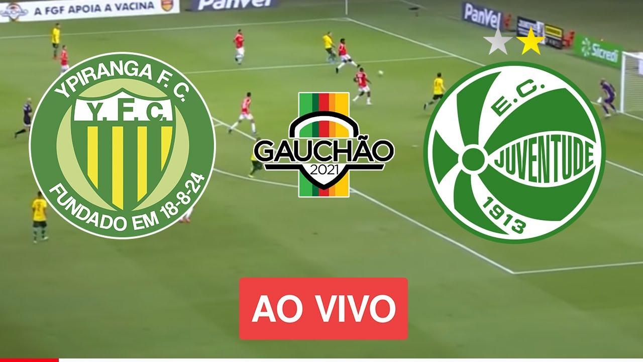 ⚽🔴Ypiranga x Juventude - AO VIVO (COM IMAGEM !!!) CAMPEONATO GAUCHO 2021  22/03/2021 - YouTube