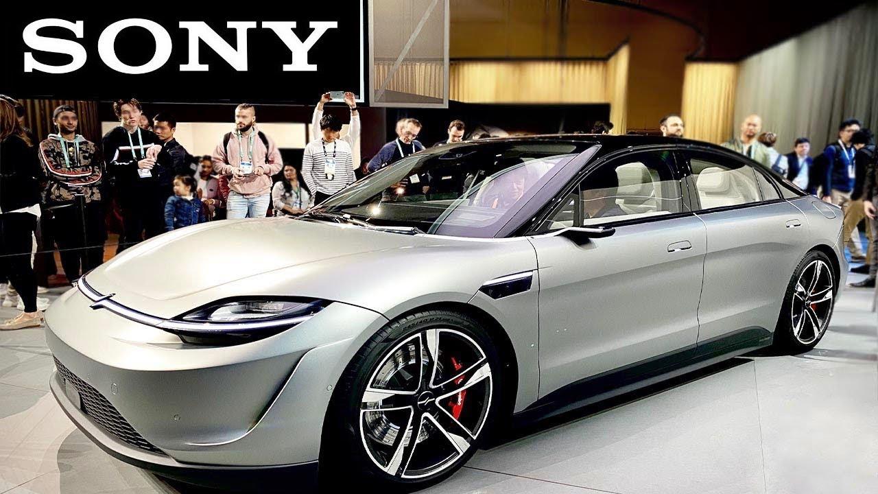 Sony, Tesla'yı Alt Edecek Arabayı Resmi Olarak Duyurdu
