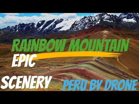 INCREDIBLE DRONE FOOTAGE - Rainbow Mountain - Cusco - Colca Canyon - Huacachina