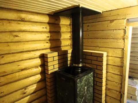 видео: Печь для бани Везувий Элит видео