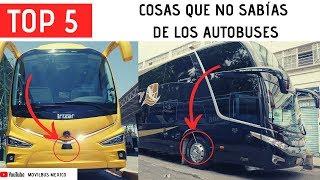 TOP 5 |COSAS QUE NO SABÍAS DE LOS AUTOBUSES|