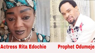 PROPHET ODUMEJE STORMS VETERAN ACTRESS RITA EDOCHIE39s PARTY