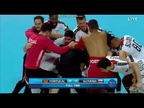 Portugal Are IN, Slovenia OUT - Junior World Handball Championship 2019 Quarter-final