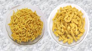 Gathiya or Gathia - Recipe Video - Bhavnagri or Makhaniya - Indian namkeen snack