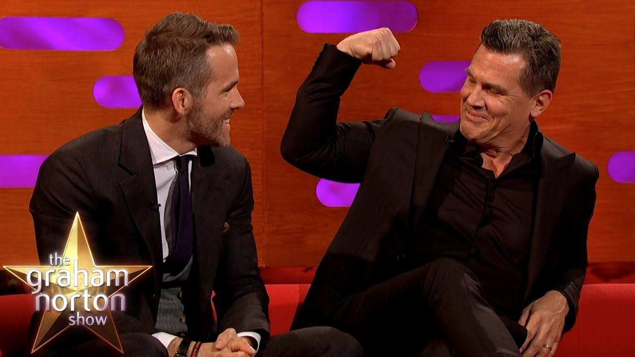 Download Ryan Reynolds & Josh Brolin Talk Deadpool 2, Avengers & Goonies | The Graham Norton Show