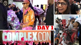 ComplexCon Day 1! Pharrell, Jeff Staple, Mia Khalifa, Don C & MORE! (FILMED ON iPhone X)