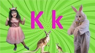 Letter K 2021 | Alphabet Song for Kids (New) | Arissa & Bunny