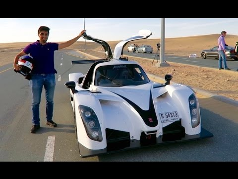 Street Legal Racing Car In Dubai Youtube